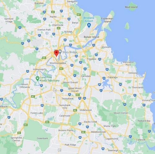 Greater Brisbane Map 500 x 495